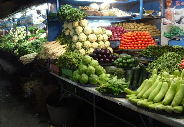 Vegetable Market in Risikesh