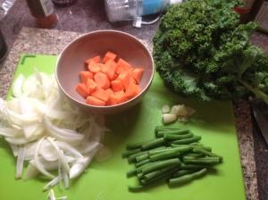 Big Soup Vegetables
