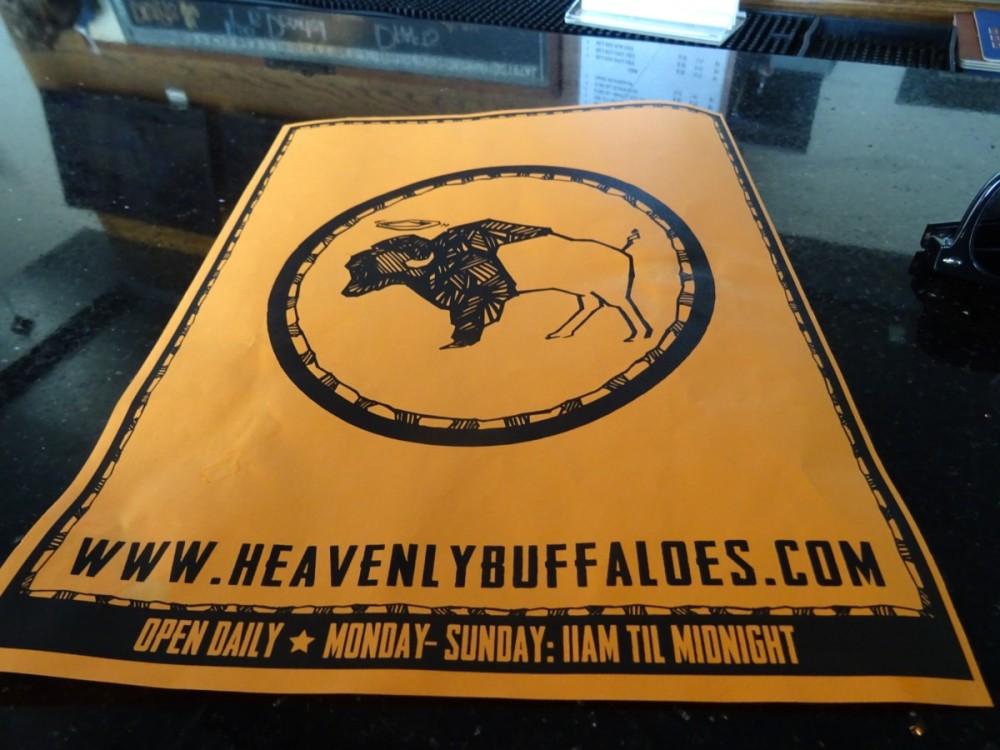 Heavenly Buffalo Flyer