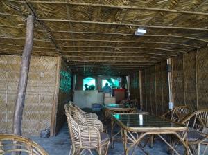 Inside Babylon Cafe in Rishikesh