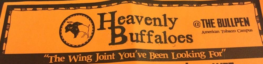Heavanly Buffalo Wings at the BullPen flyer header