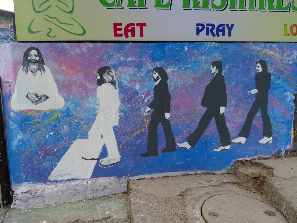 Beatles Picture in Rishikesh