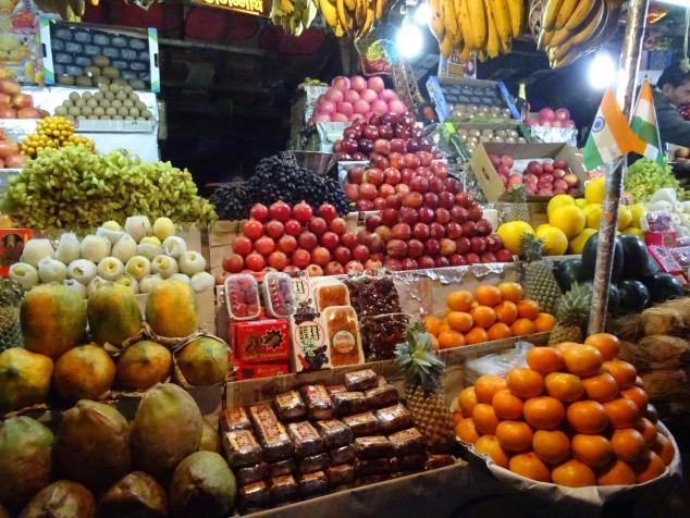 Fruit Market in Rishikesh