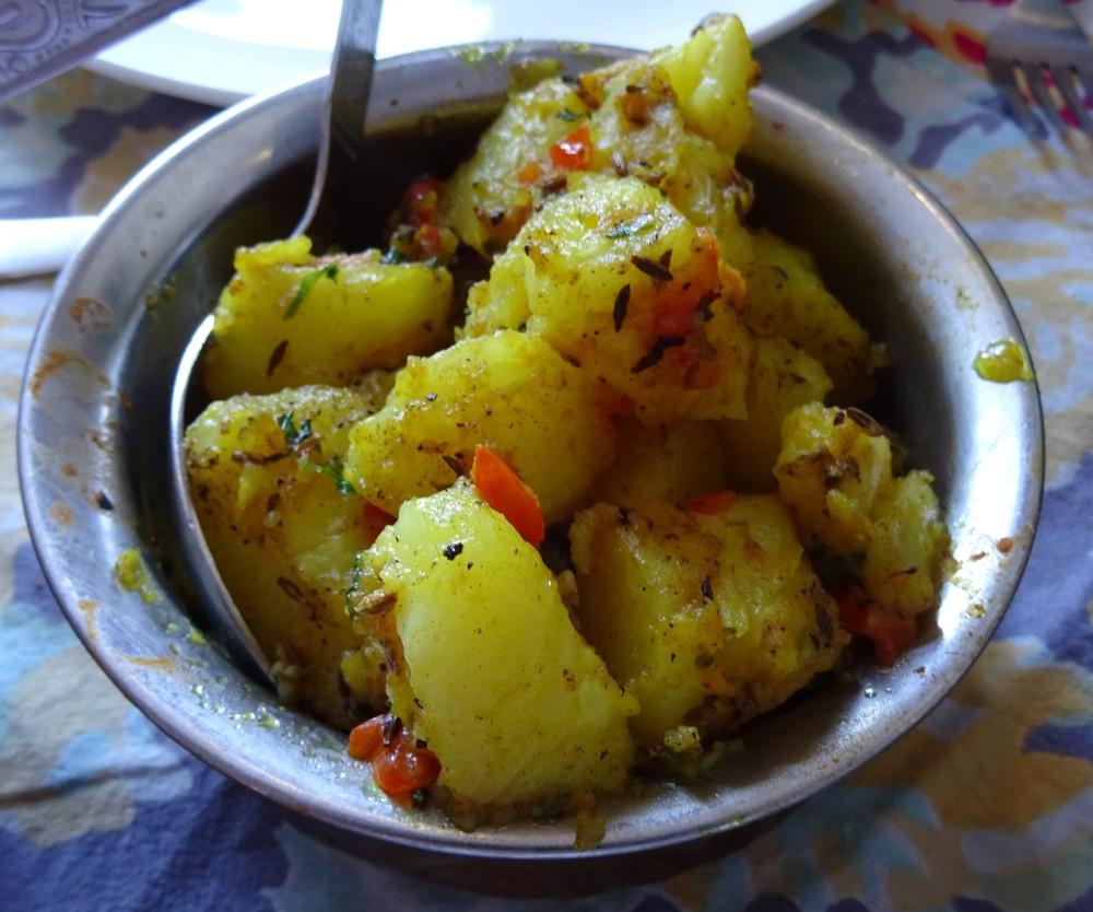 Aloo Dish at The Royal Treat