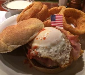 Montana Breakfast Burger at Ted Montanas