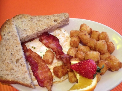 Bacon and Eggs at Big Daddy's